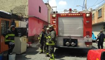 Explosión por acumulación de gas deja tres lesionados en Iztapalapa