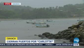 Aumenta Intensidad Lluvias Tormenta Carlotta Oaxaca