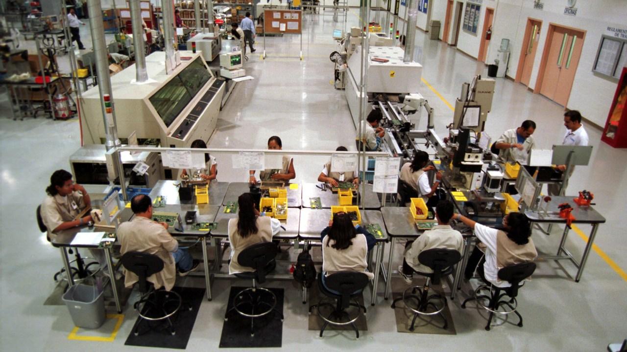 Aumenta ocupación de industria manufacturera: INEGI