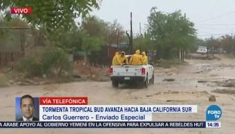 Autoridades BCS Piden Población Acudir Refugios Llegada Bud
