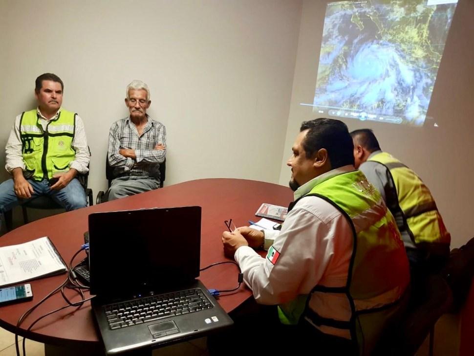 Autoridades de diez municipios de Sonora se encuentran en alerta por la cercanía del huracán 'Bud'