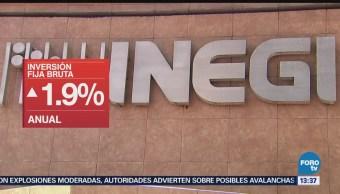 inversión fija bruta en marzo INEGI