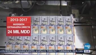 Bajío Zona Mejor Inversión Extranjera Directa