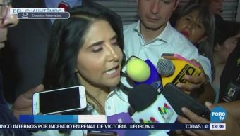 Barrales recorre mercado Hidalgo colonia Doctores