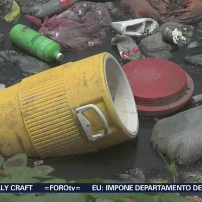Basura genera el 50 por ciento de las inundaciones en la CDMX