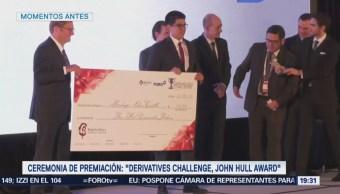 BMV Premia Ganadores Derivatives Challenge Reconocimiento