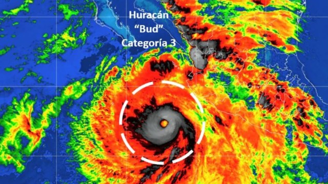 'Bud' provocará tormentas torrenciales nocturnas en Nayarit y Jalisco: SMN