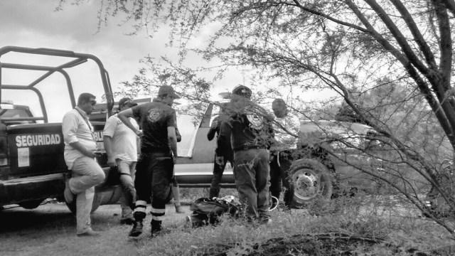 Buscan cuerpo de hombre ahogado en una presa en NL