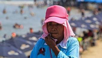 Pronostican altas temperaturas y lluvias en estados del país