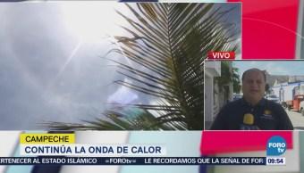 Campeche Registra Temperaturas 42 Grados Centígrados