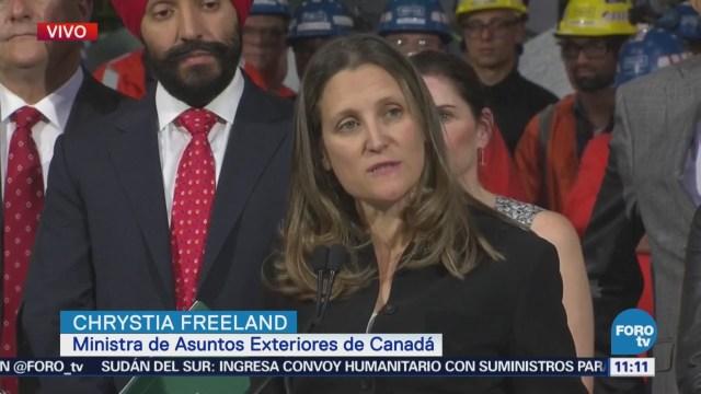Canadá impugna ante la OMC medidas