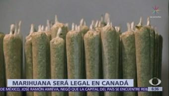 Canadá, primer país del G7 que legaliza marihuana recreativa