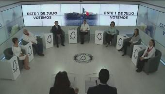 Candidatos Gobierno Cdmx Debaten Tercera Ocasión