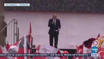 Candidatos Presidenciales Turquía Cierran Campañas Elecciones