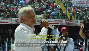 Candidatos presidenciales inician cierres de campaña