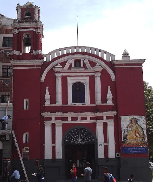 Reparan templo de Puebla afectado por sismo de septiembre