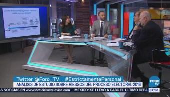 Carlos Ugalde analiza los riesgos en el proceso electoral 2018
