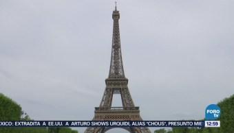 Casi listo el muro contra ataques en la Torre Eiffel