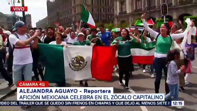 Celebran Todo País Segundo Triunfo México Rusia