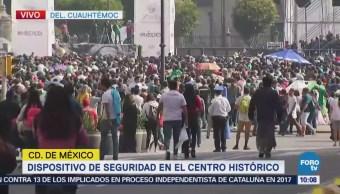 Cierran avenida 20 de Noviembre por llegada de aficionados de la selección mexicana