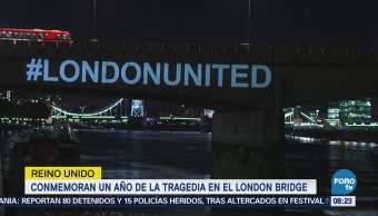 Conmemoran Un Año Tragedia London Bridge