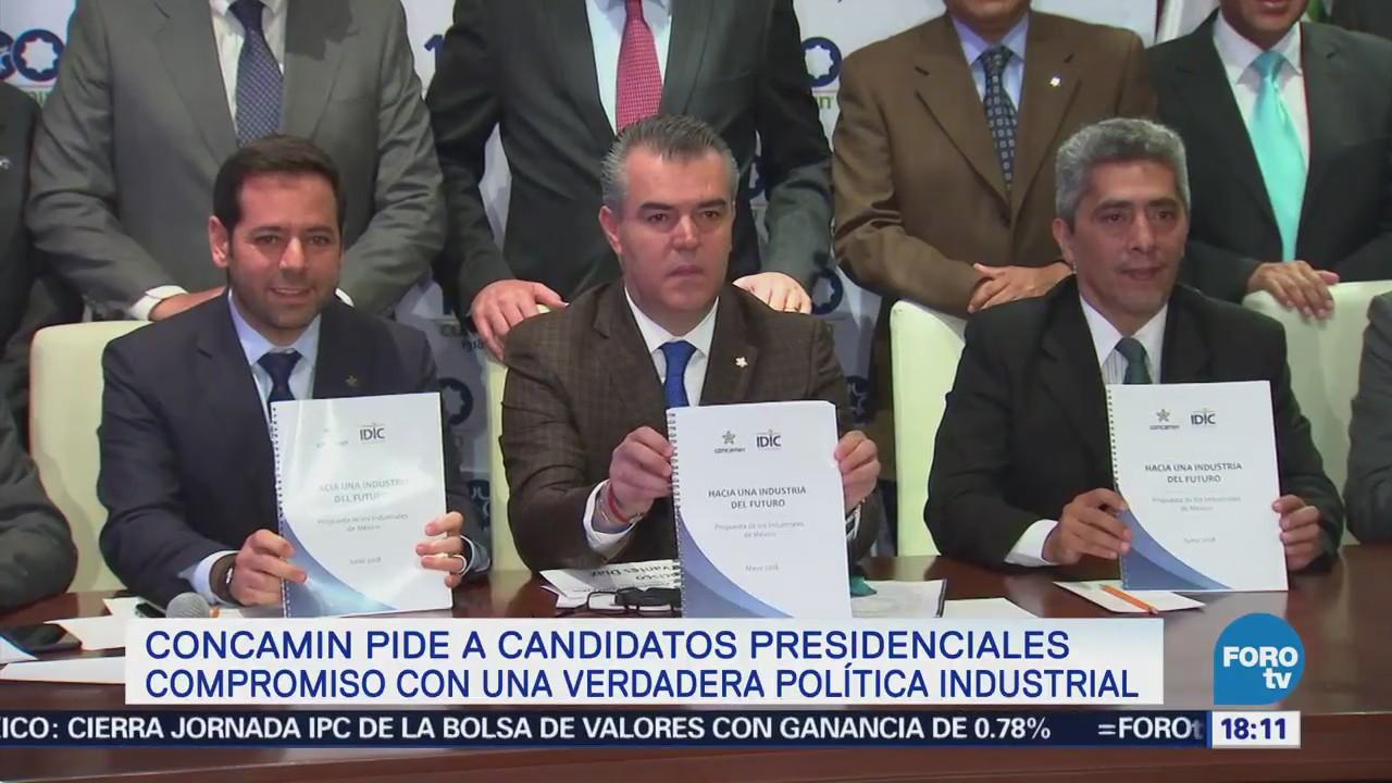 Concamin Pide Candidatos Compromiso Política Industrial