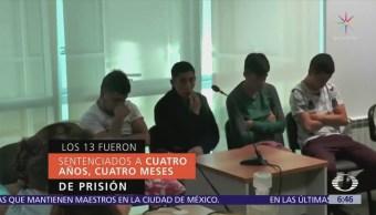 Condenan a 13 mexicanos en Uruguay por robo de joyería