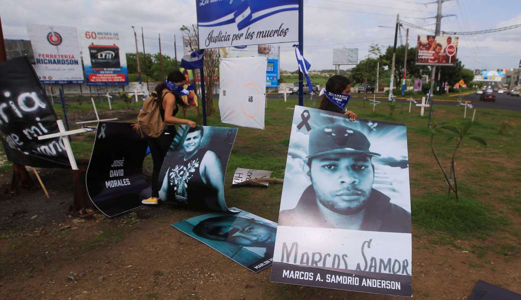 Confirman 121 muertos crisis sociopolítica Nicaragua