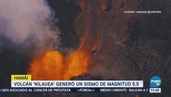 Continúa erupción del Volcán Kilauea