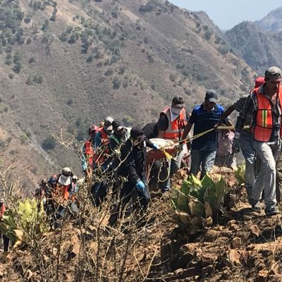 Se cumple una semana de derrumbe en Chihuahua; buscan a cinco mineros