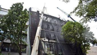 finaliza demolicion edificio hamburgo 112 afectado sismo 19s