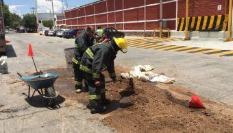 derraman 600 litros parafina calles guadalajara jalisco