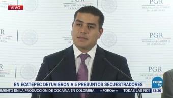 Desarticulan Cinco Bandas Secuestradores Estado De México