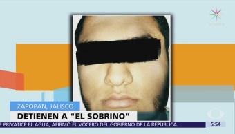 Detienen a 'El Sobrino', integrante del CJNG