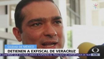 Detienen al exfiscal de Veracruz, Luis Ángel Bravo Contreras