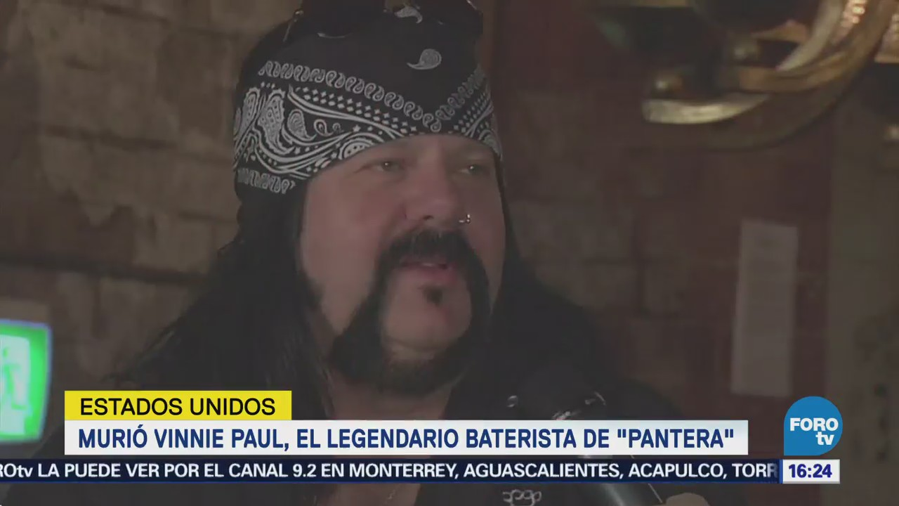 Murió Vinnie Paul Legendario Baterista Pantera