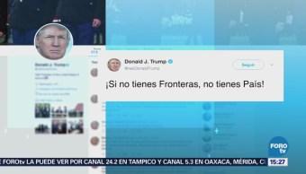 Donald Trump Defiende Su Política Migratoria