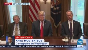 Donald Trump evalúa ley para resolver separación de familias