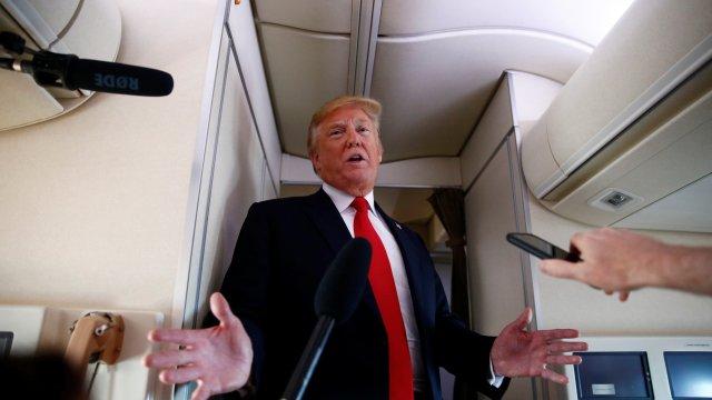 Donald Trump niega intención salir OMC