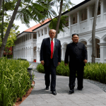 Kim y Trump protagonizan una cumbre entre políticos