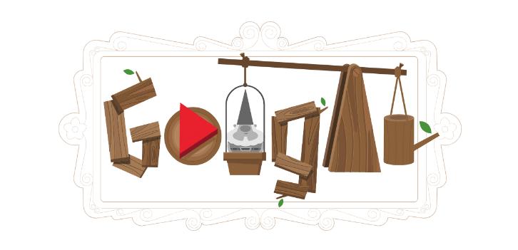 Doodle Gnomos Google, Goodle, Doodle, Gnomos, Gnomos De Jardin, Garden Day
