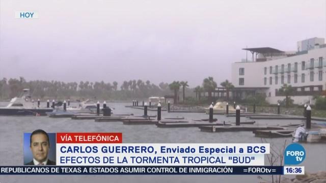 Efectos Tormenta Tropical Bud BCS