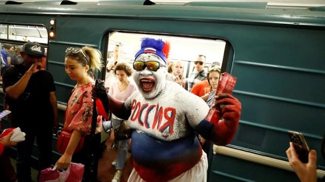 Copa del Mundo desmiente que los rusos son fríos y hostiles