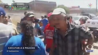 Ejecutan Seis Policías Salamanca Guanajuato