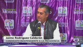 'El Bronco' promete encabezar a ciudadanos comprometidos con movimiento independiente