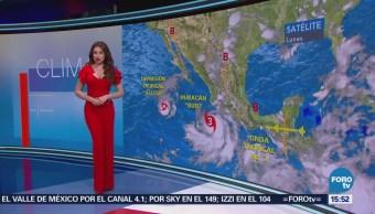 El Clima 'A las Tres' con Mayte Carranco