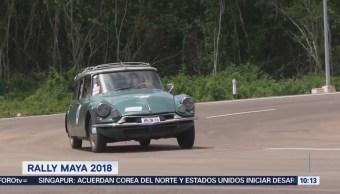 El recorrido del Rally Maya 2018