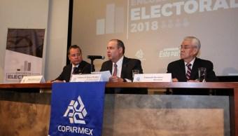 Elecciones marcarán futuro del país: Coparmex