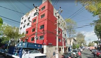 Encuentran un cadáver dentro de hotel colonia Tacuba