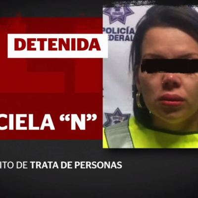 Detienen a presunta reclutadora del portal 'Zona Divas' en CDMX